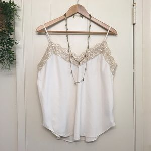 GAP cream lace camisole - high quality